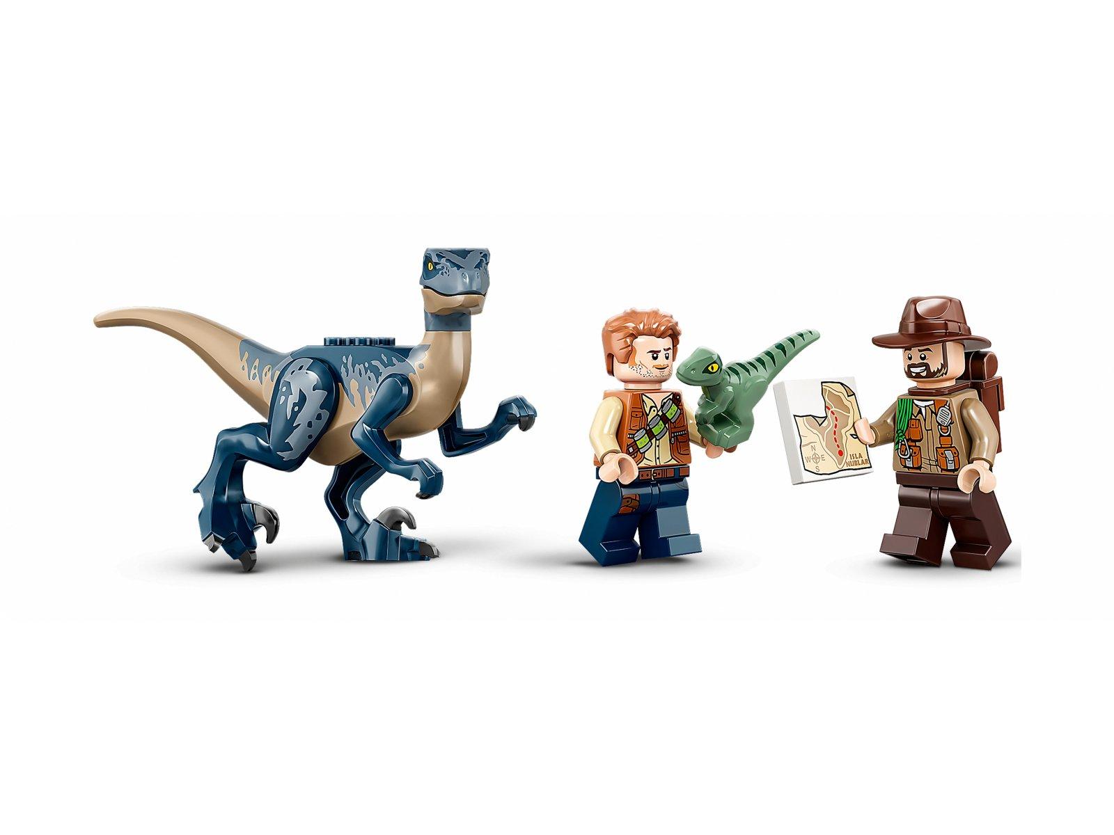LEGO 75942 Welociraptor: na ratunek dwupłatowcem