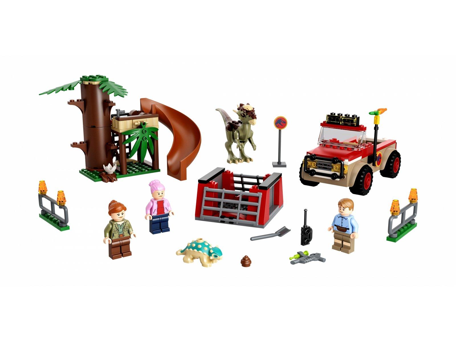 LEGO 76939 Jurassic World Ucieczka stygimolocha