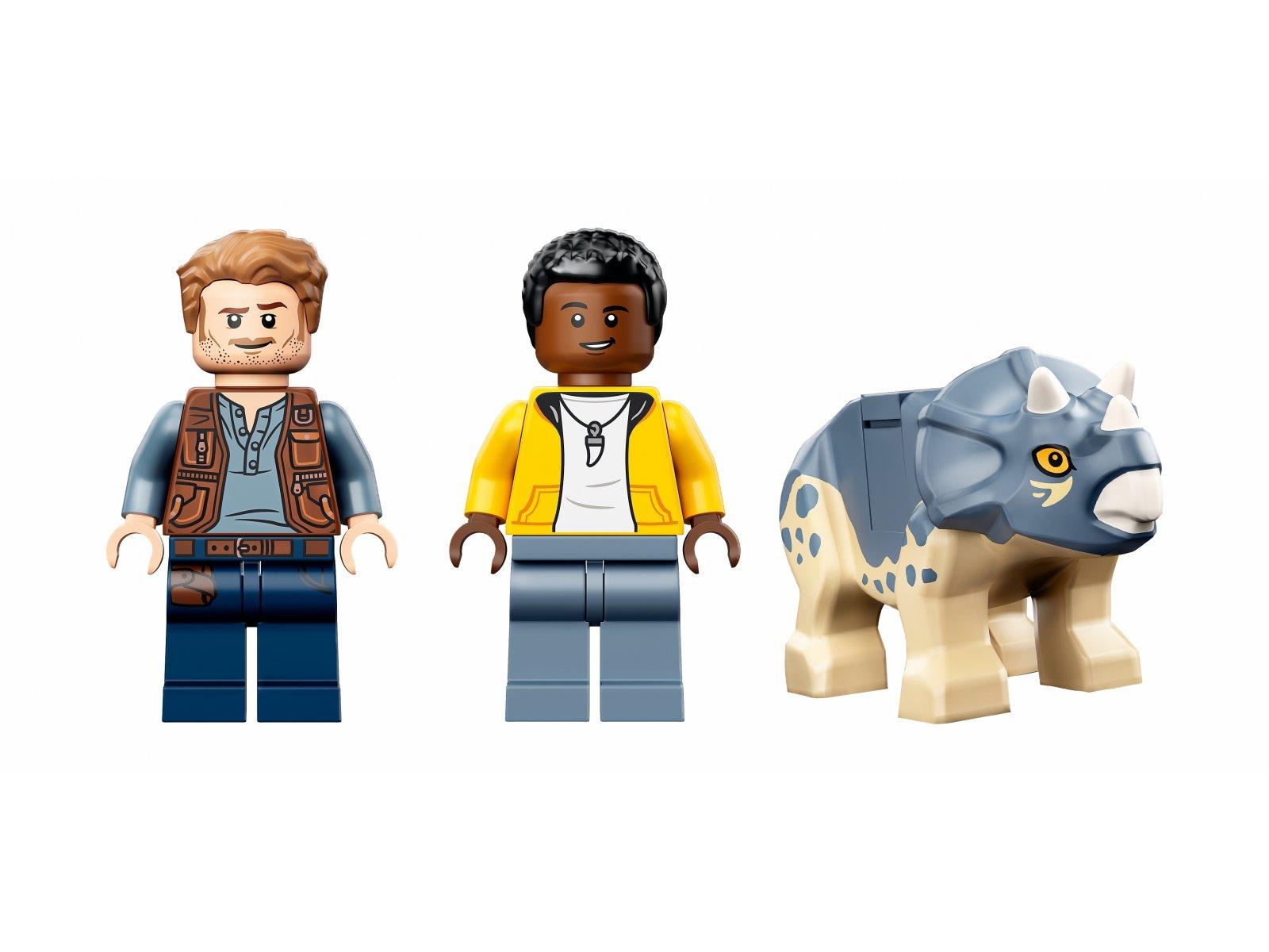 LEGO Jurassic World 76940 Wystawa skamieniałości tyranozaura