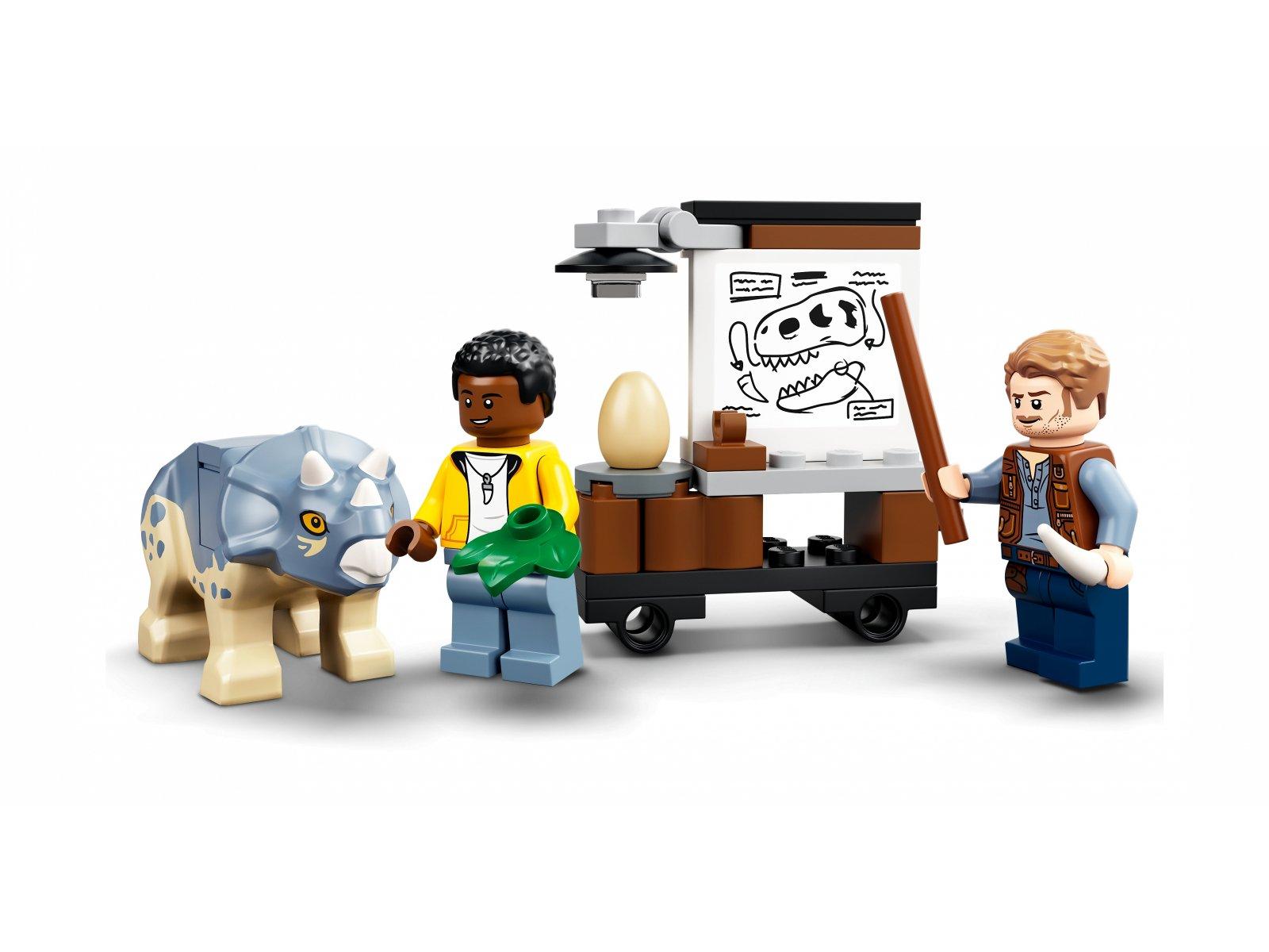 LEGO 76940 Wystawa skamieniałości tyranozaura