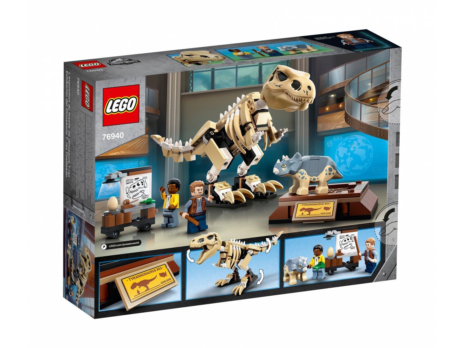 LEGO 76940 Jurassic World Wystawa skamieniałości tyranozaura