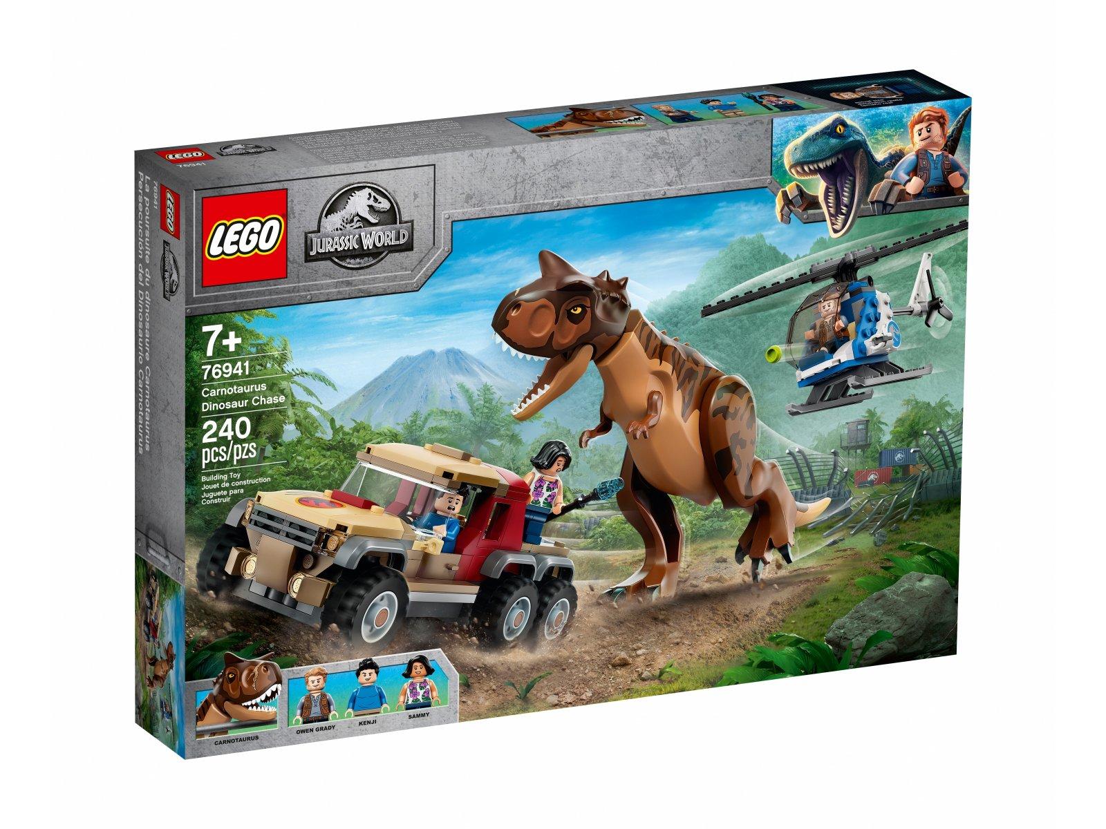 LEGO 76941 Jurassic World Pościg za karnotaurem