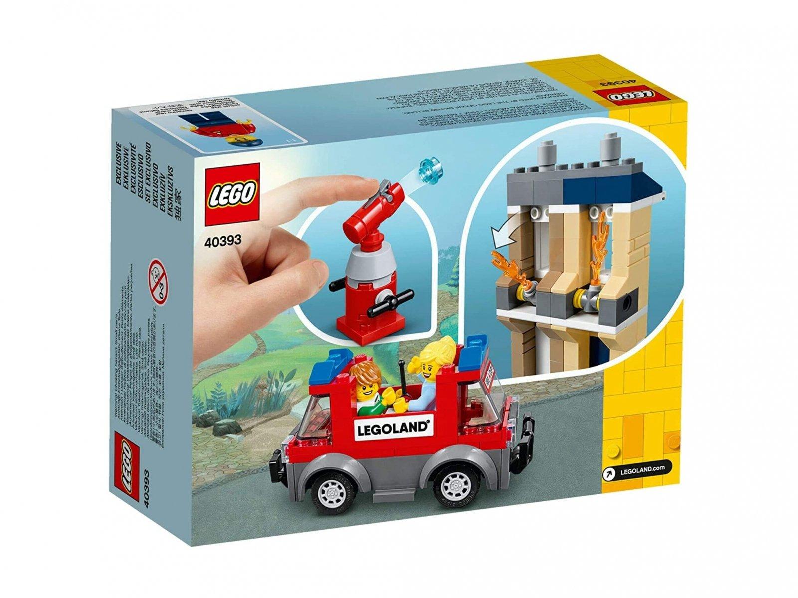LEGO LEGOLAND 40393 Szkoła pożarnicza w parku LEGOLAND®