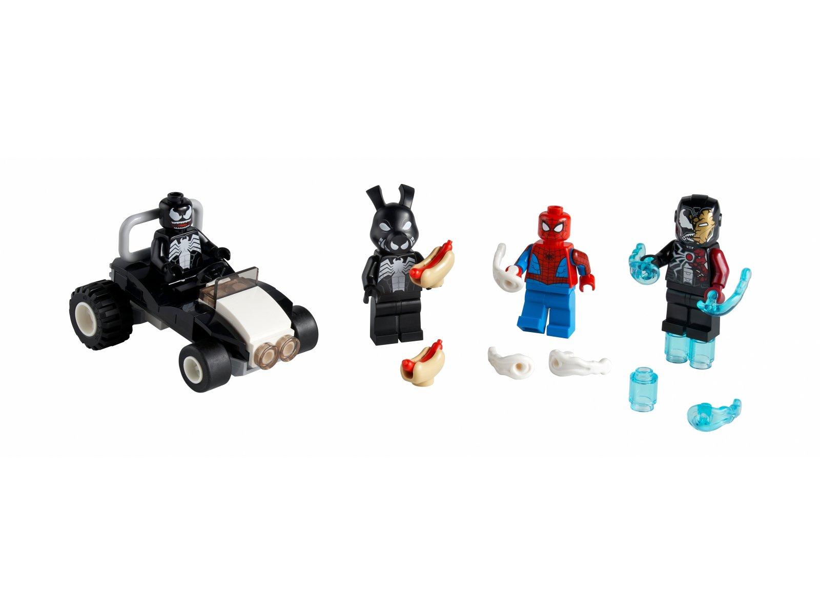 LEGO 40454 Marvel Spider-Man kontra Venom i Iron Venom