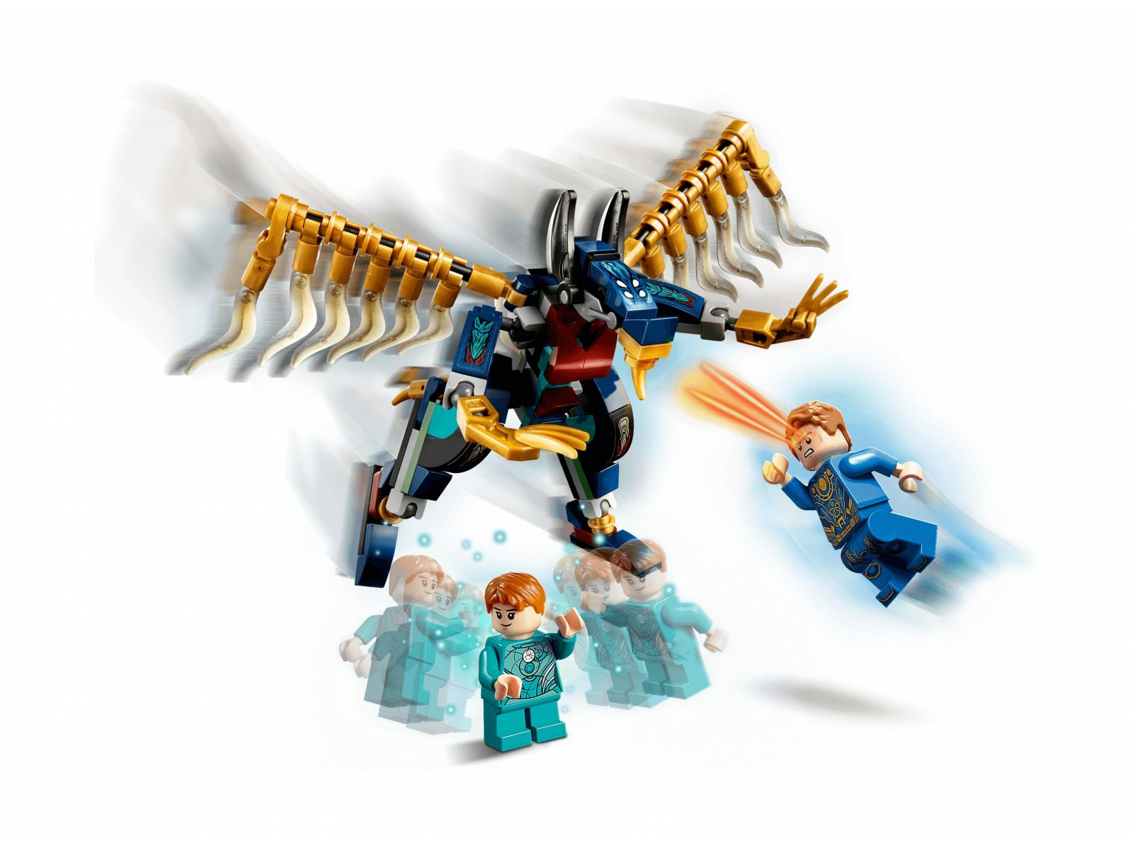 LEGO 76145 Marvel Atak powietrzny Przedwiecznych