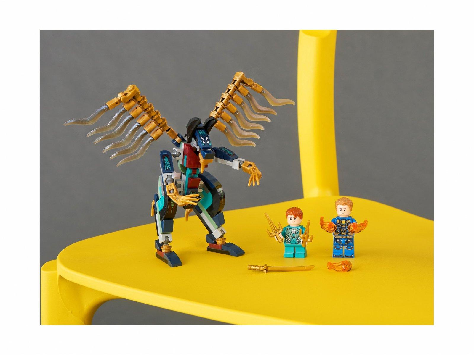 LEGO Marvel Atak powietrzny Przedwiecznych 76145