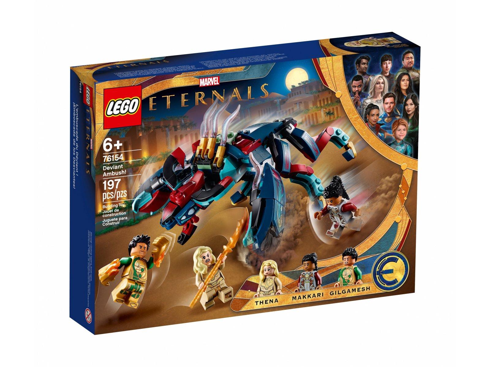 LEGO Marvel 76154 Zasadzka Dewiantów!