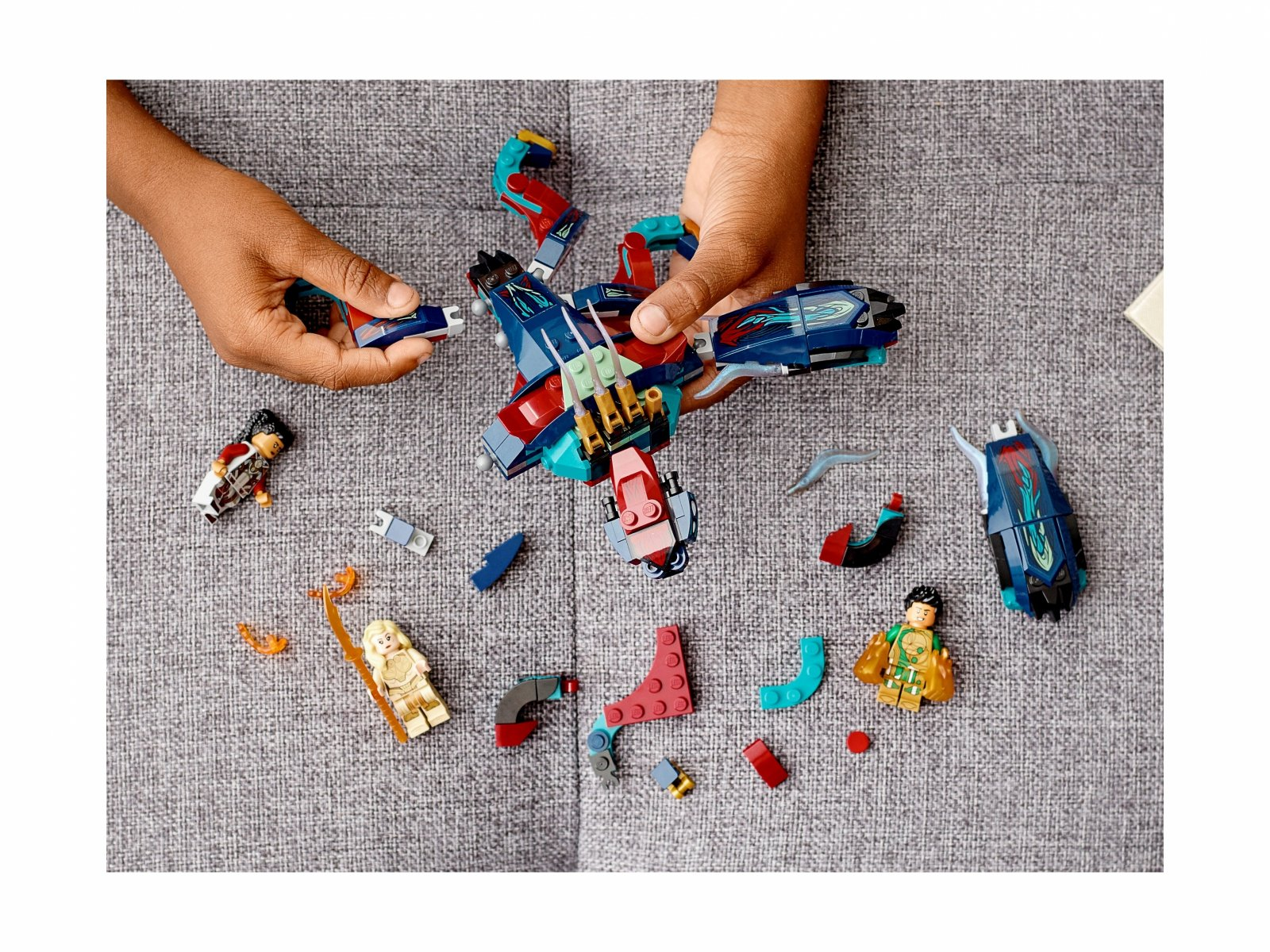 LEGO 76154 Marvel Zasadzka Dewiantów!