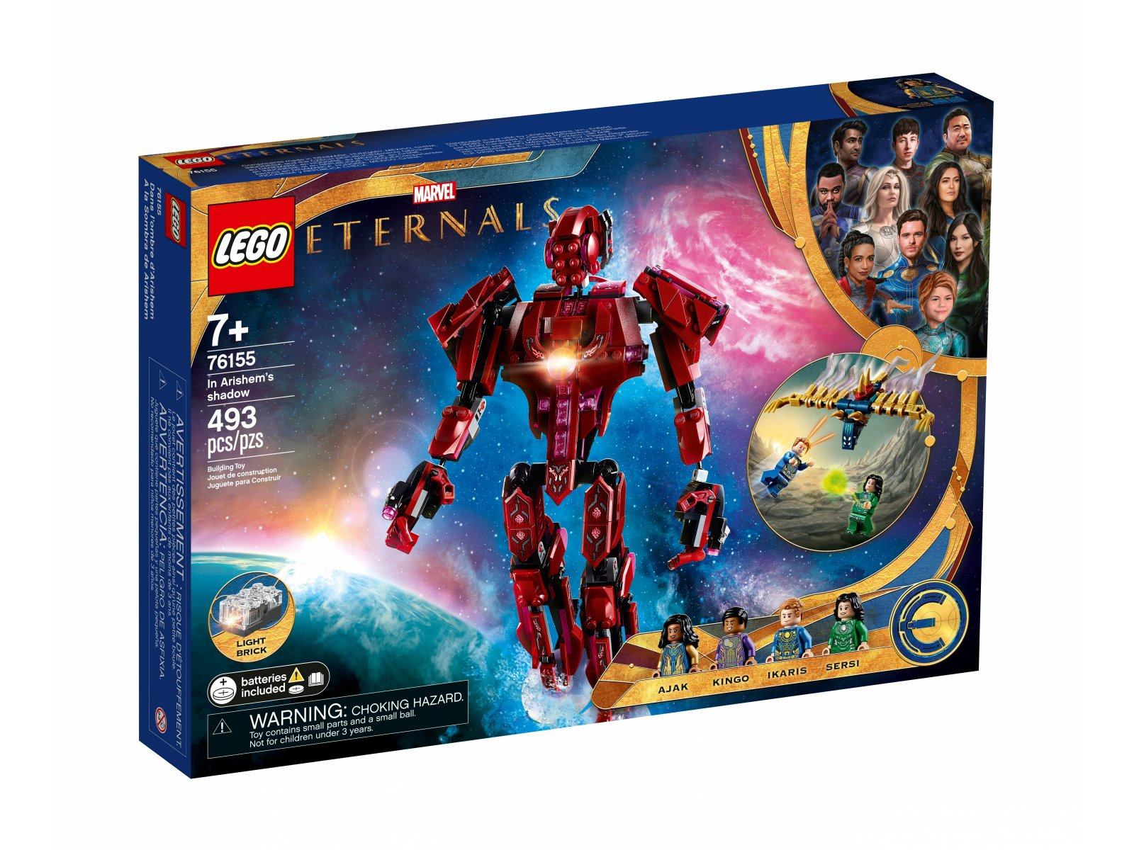 LEGO Marvel W cieniu Arishem 76155