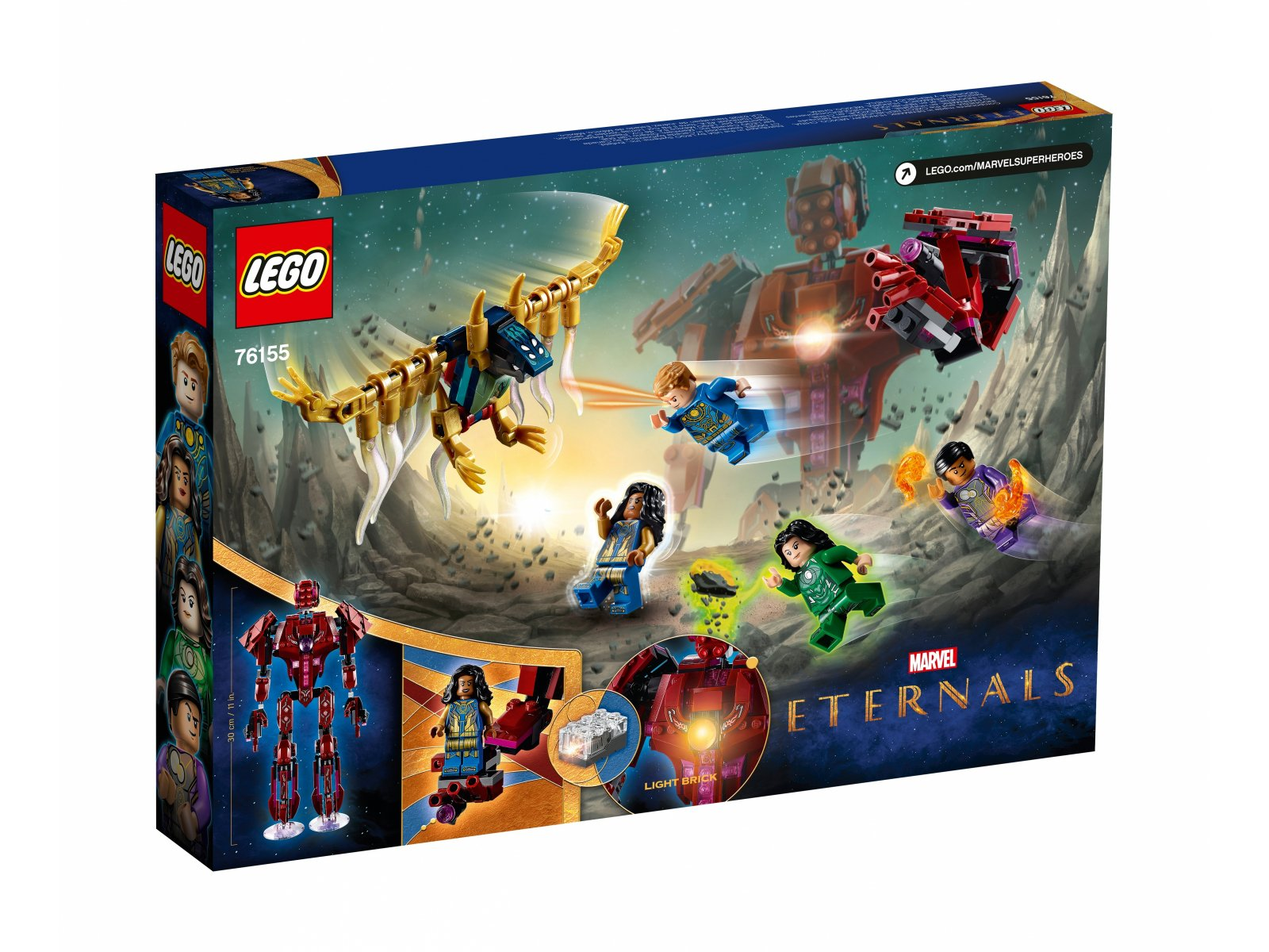 LEGO 76155 Marvel W cieniu Arishem