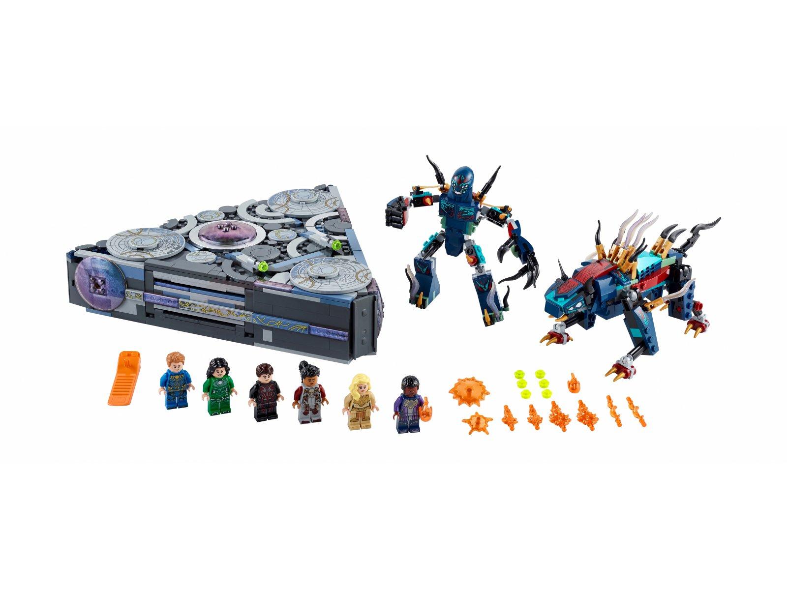 LEGO Marvel Domo powstaje 76156