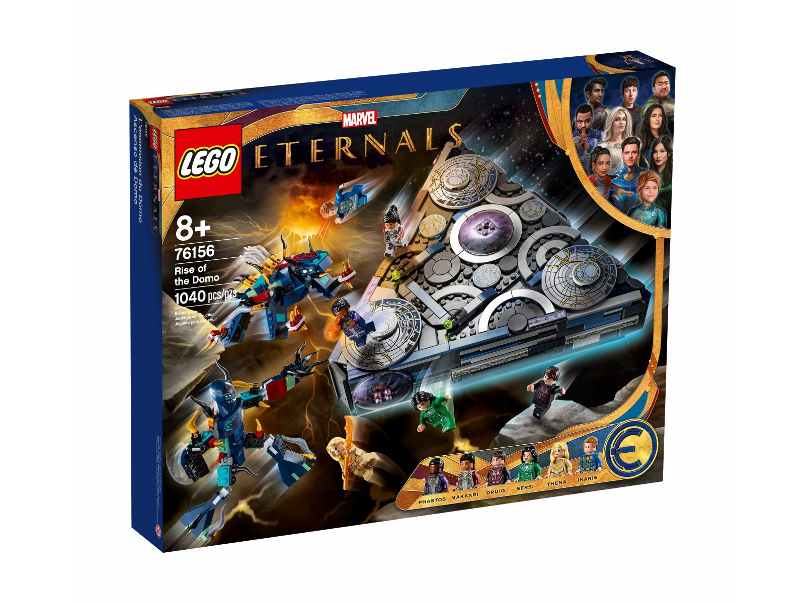 LEGO 76156 Marvel Domo powstaje