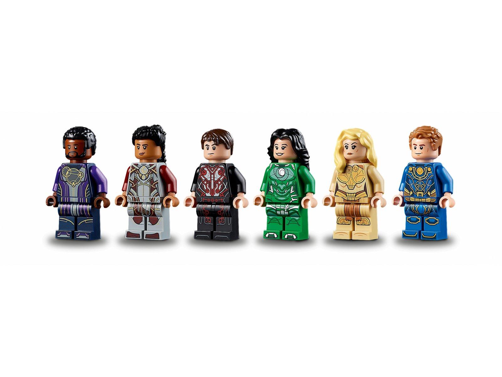 LEGO Marvel 76156 Domo powstaje