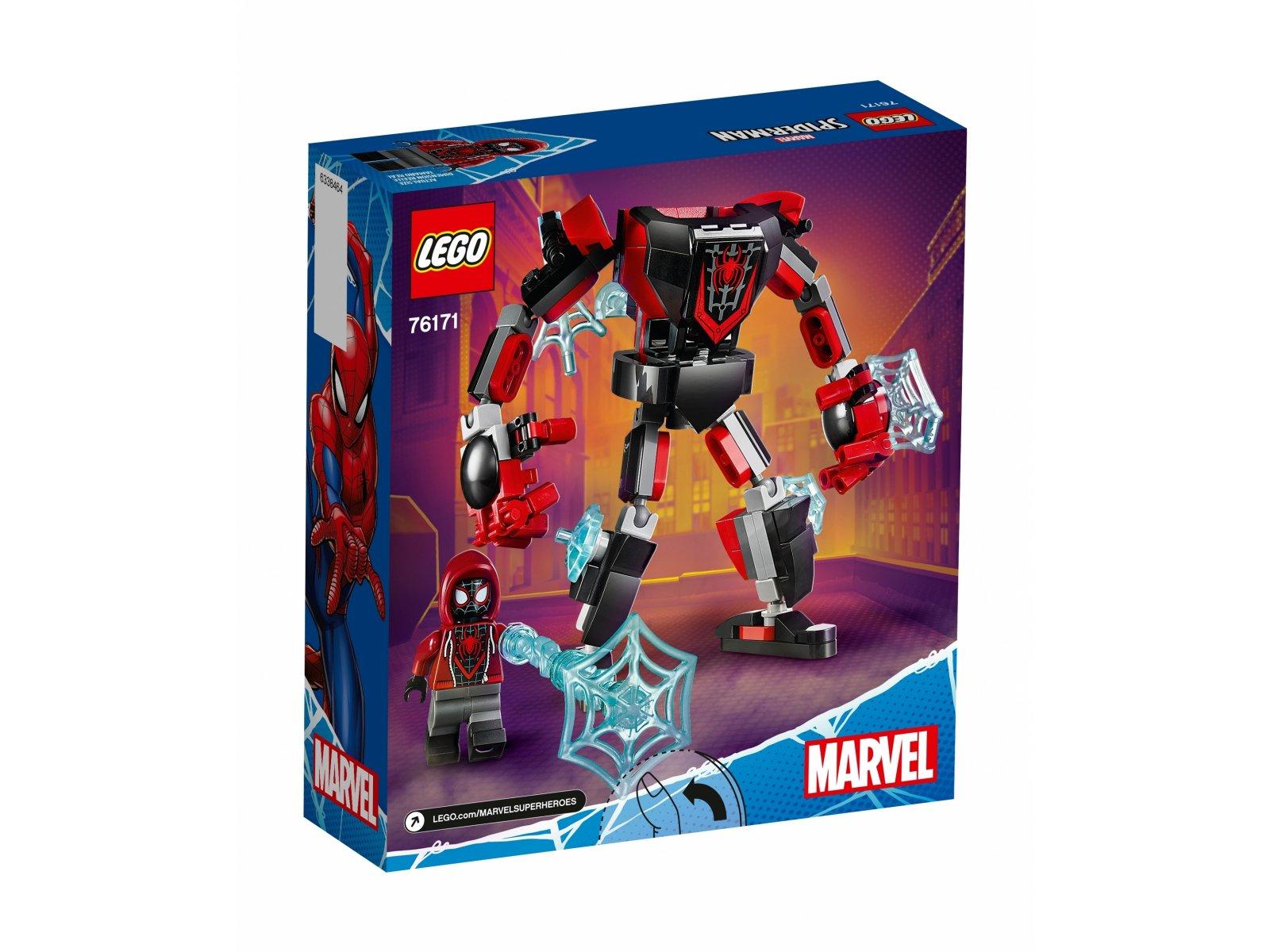 LEGO Marvel Opancerzony mech Milesa Moralesa 76171