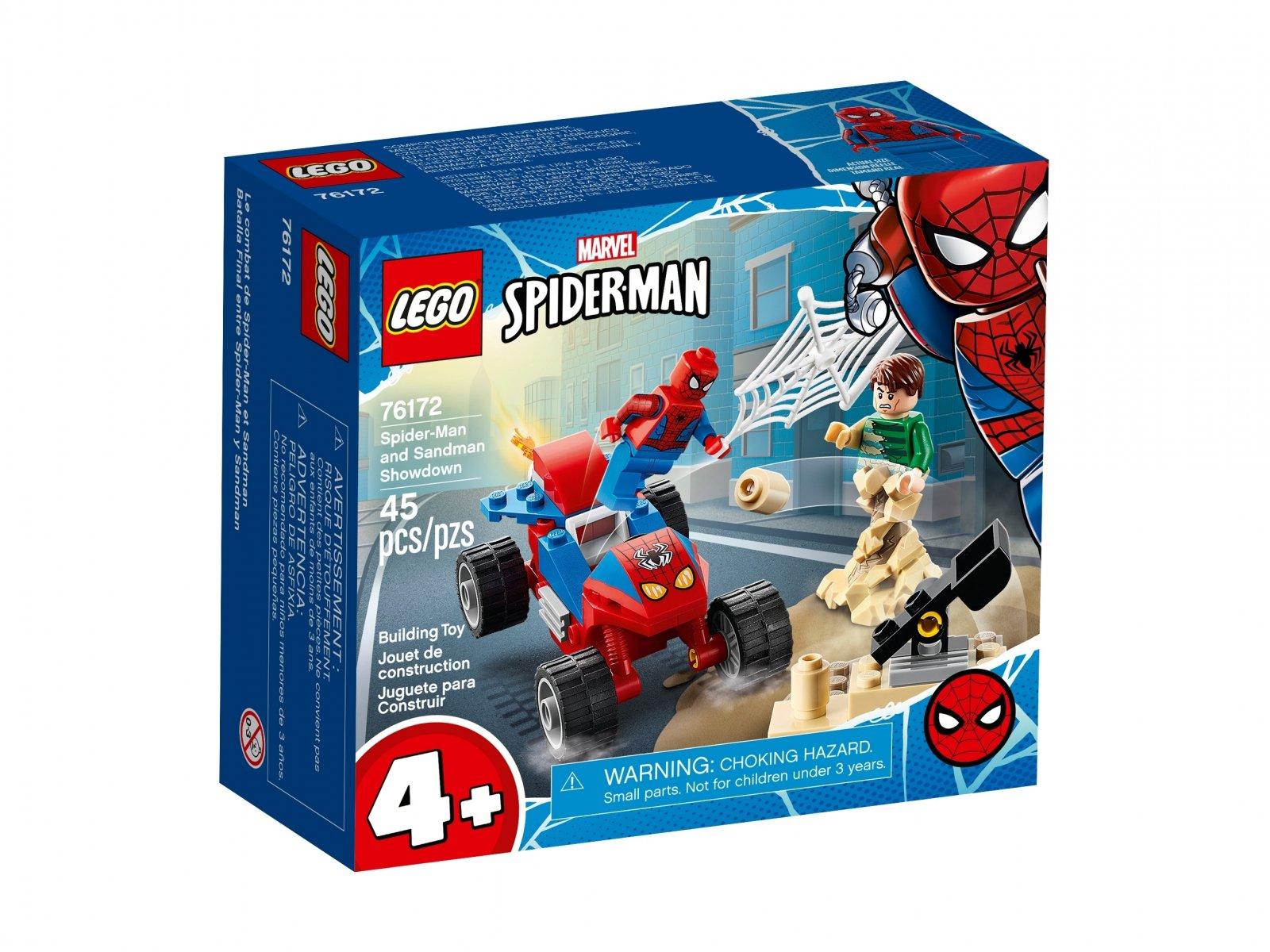LEGO 76172 Marvel Pojedynek Spider-Mana z Sandmanem
