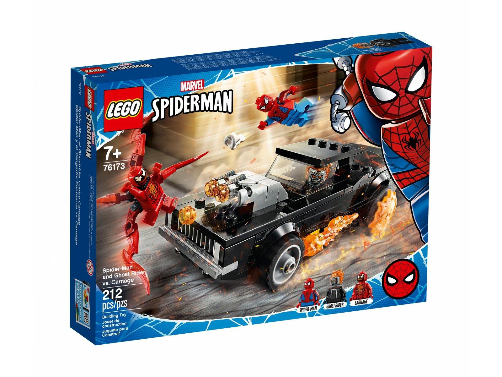 LEGO Marvel 76173 Spider-Man i Upiorny Jeździec kontra Carnage