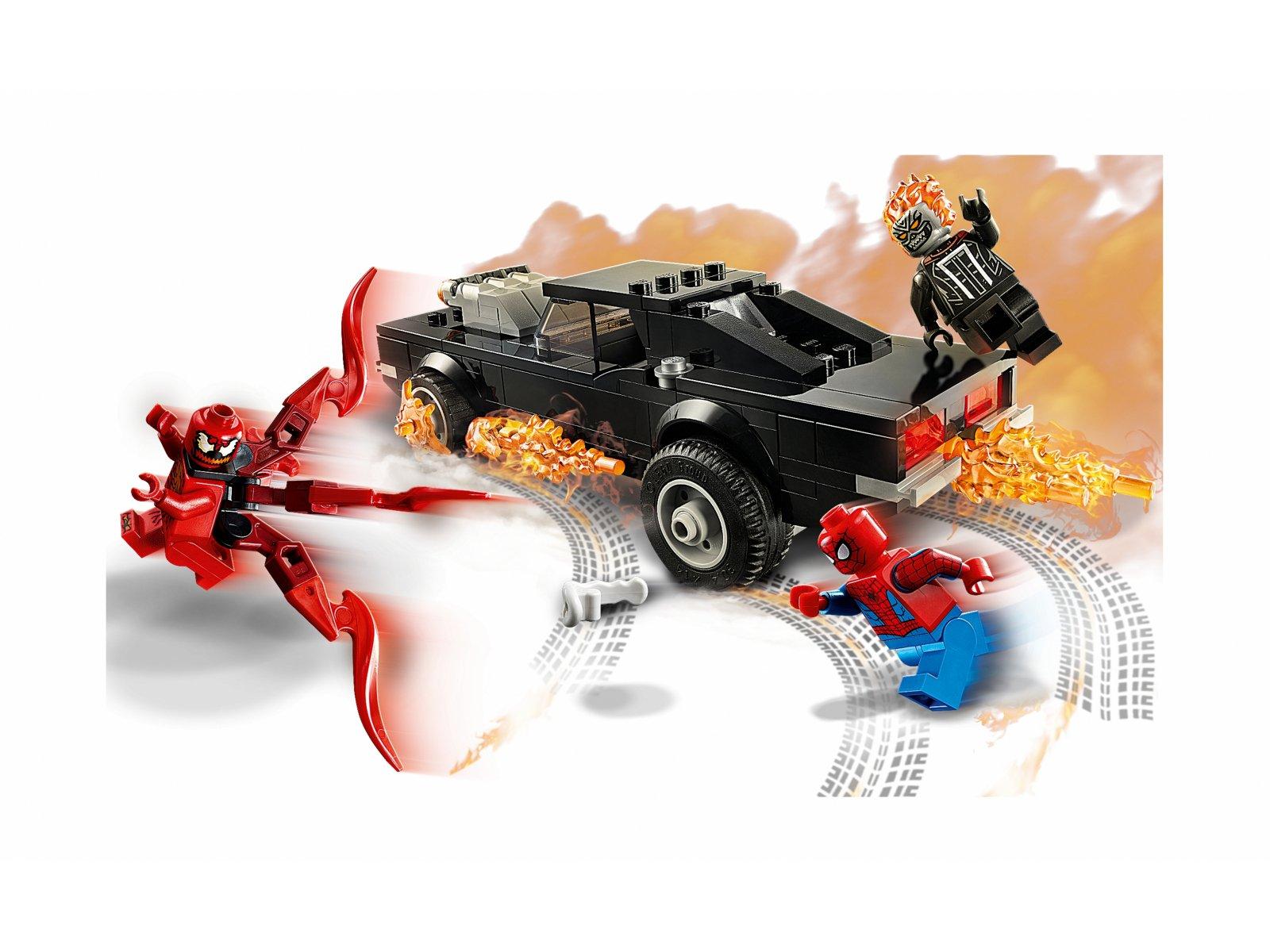 LEGO Marvel Spider-Man i Upiorny Jeździec kontra Carnage 76173