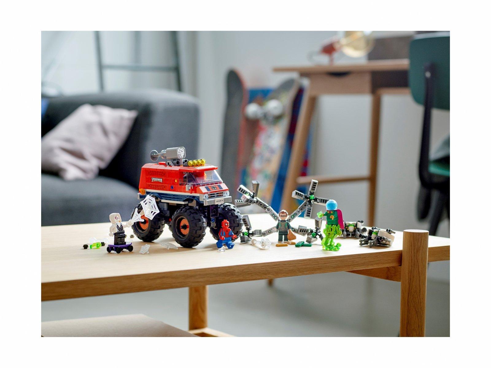 LEGO Marvel Monster truck Spider-Mana kontra Mysterio 76174