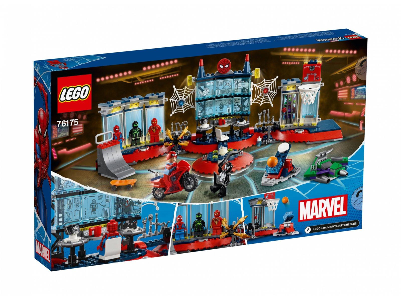 LEGO Marvel Atak na kryjówkę Spider-Mana 76175