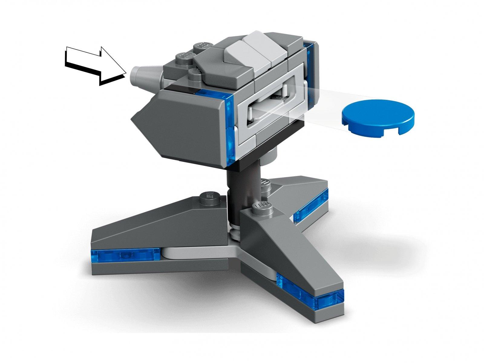 LEGO Marvel Ucieczka przed Dziesięcioma Pierścieniami 76176
