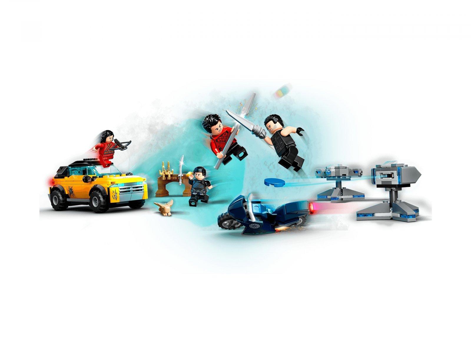 LEGO Marvel 76176 Ucieczka przed Dziesięcioma Pierścieniami