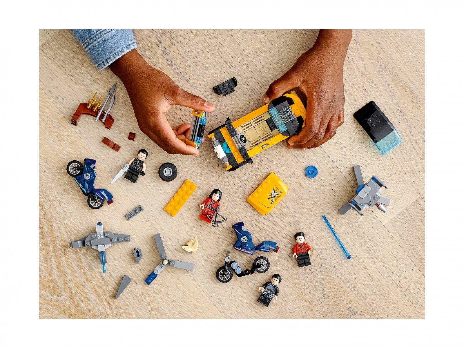 LEGO 76176 Ucieczka przed Dziesięcioma Pierścieniami