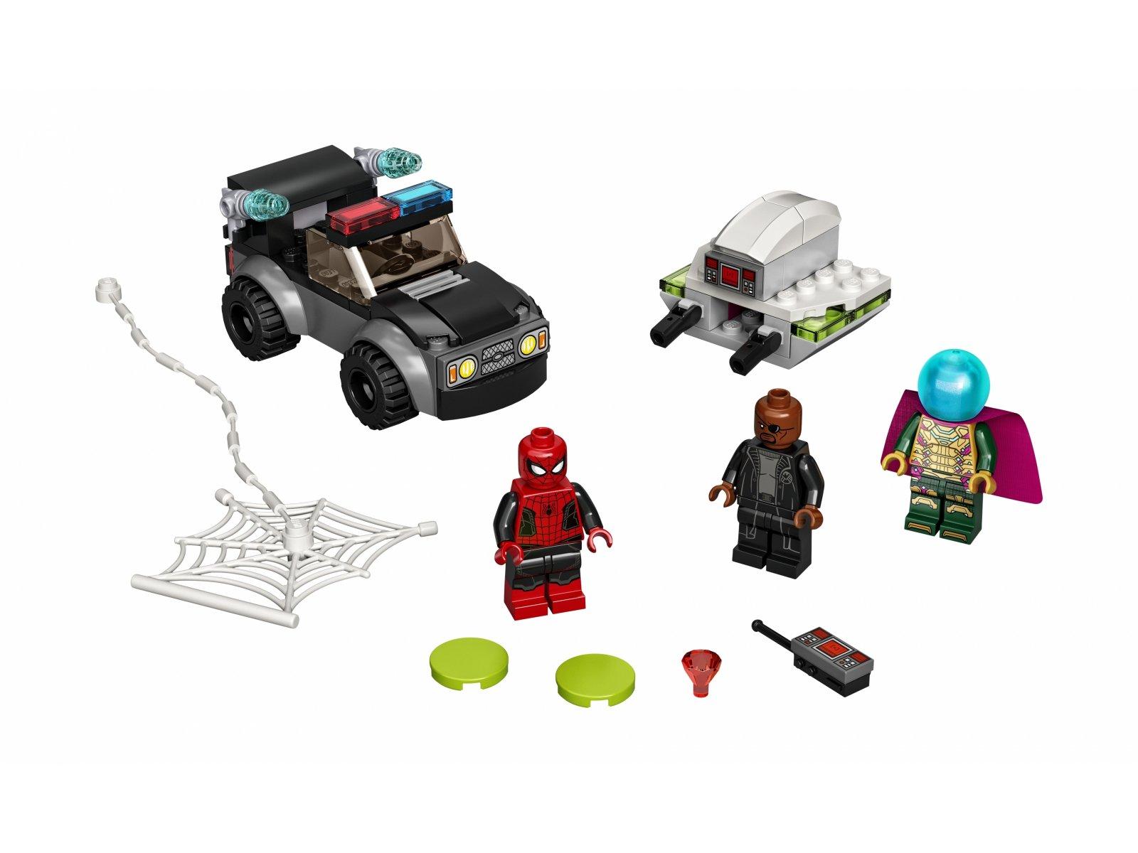 LEGO 76184 Spider-Man kontra Mysterio i jego dron