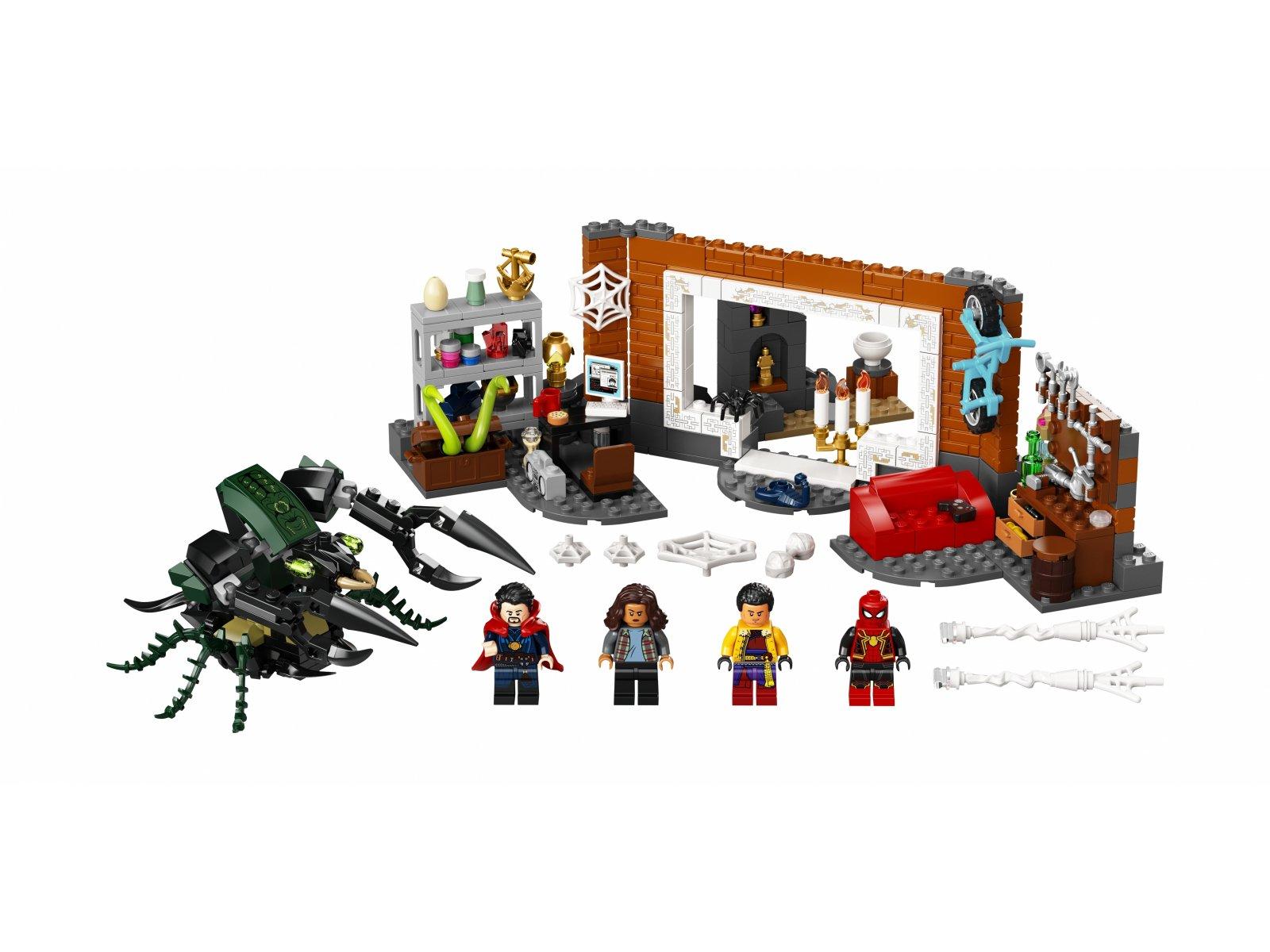 LEGO 76185 Marvel Spider-Man w warsztacie w Sanctum