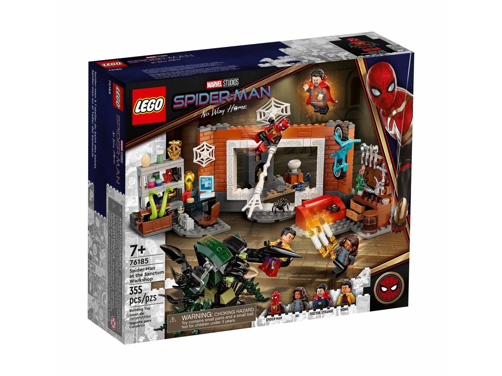LEGO Marvel 76185 Spider-Man w warsztacie w Sanctum