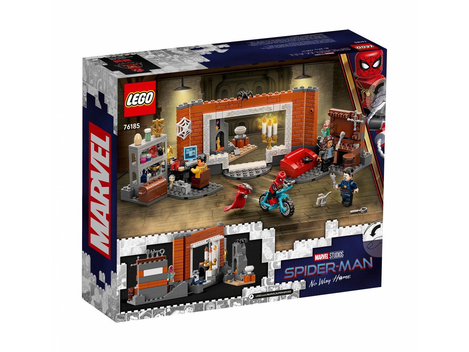 LEGO 76185 Spider-Man w warsztacie w Sanctum