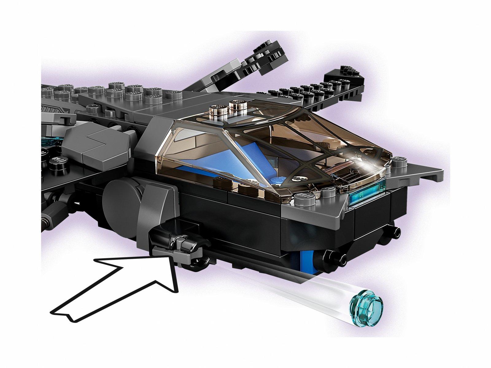 LEGO 76186 Marvel Helikopter Czarnej Pantery