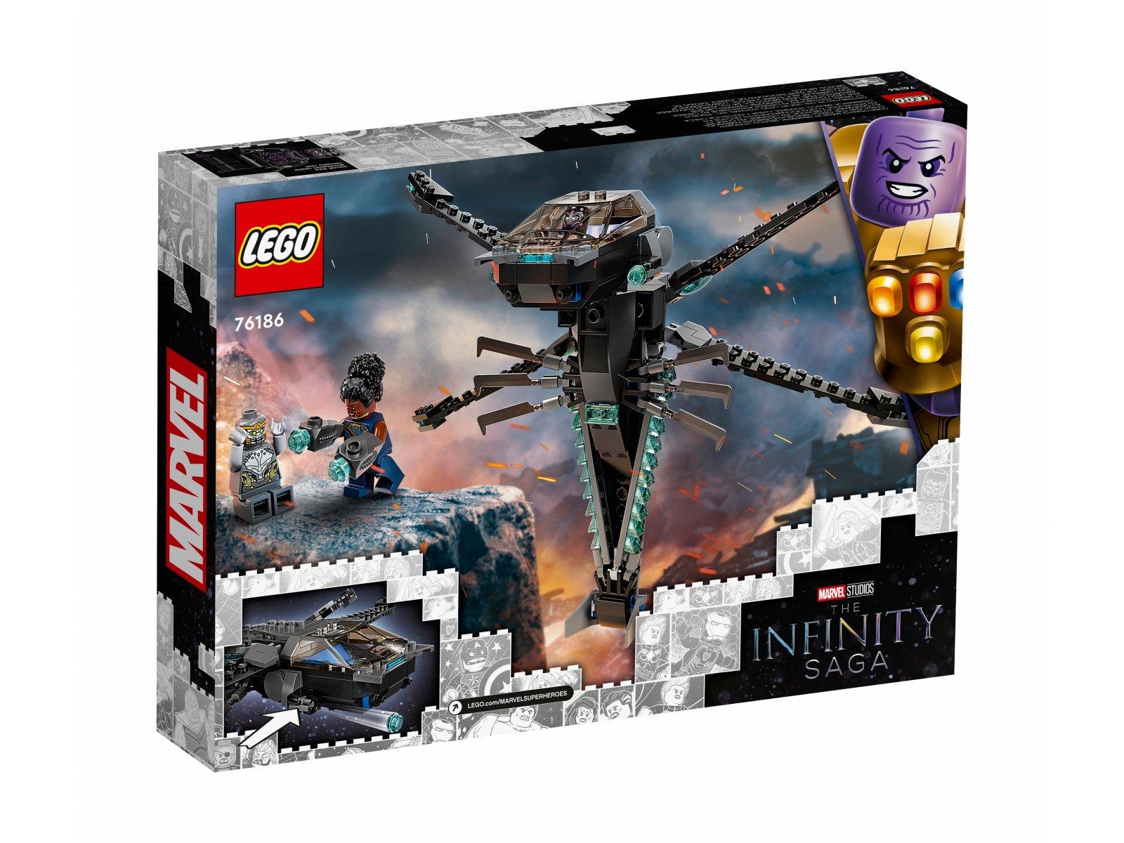 LEGO 76186 Helikopter Czarnej Pantery