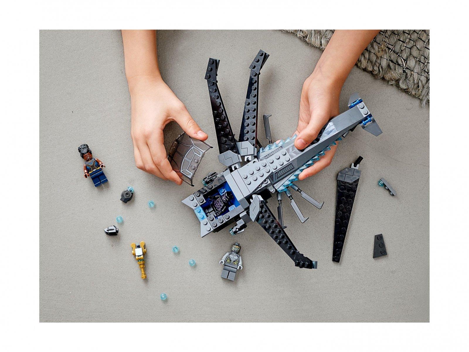 LEGO Marvel Helikopter Czarnej Pantery 76186