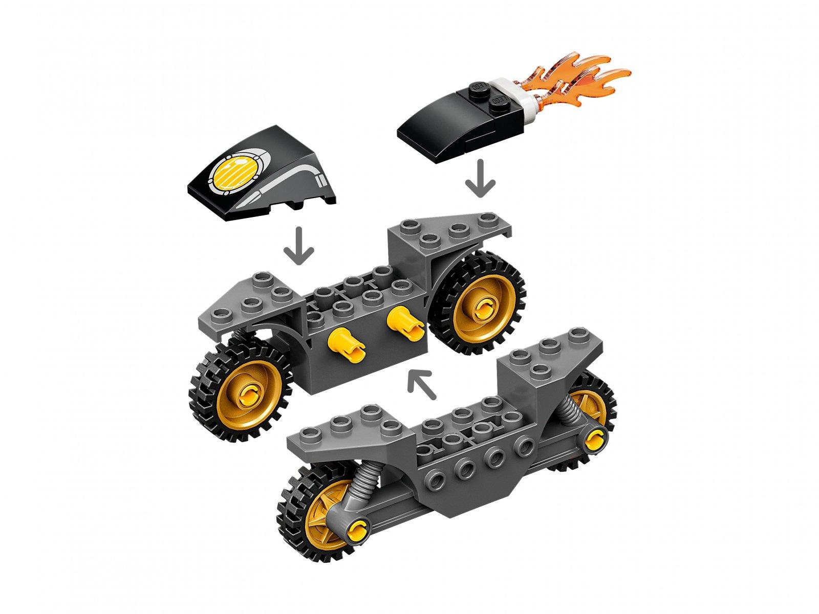 LEGO Marvel 76189 Kapitan Ameryka i pojedynek z Hydrą