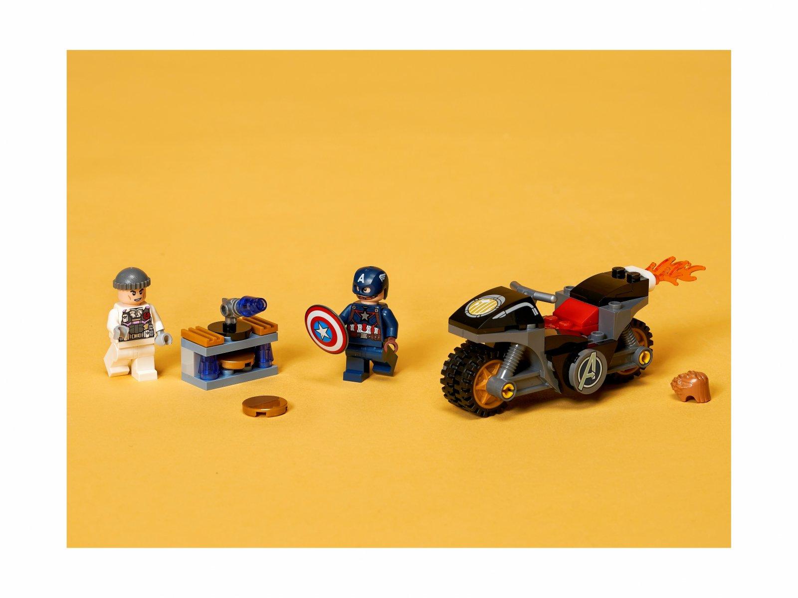LEGO 76189 Marvel Kapitan Ameryka i pojedynek z Hydrą