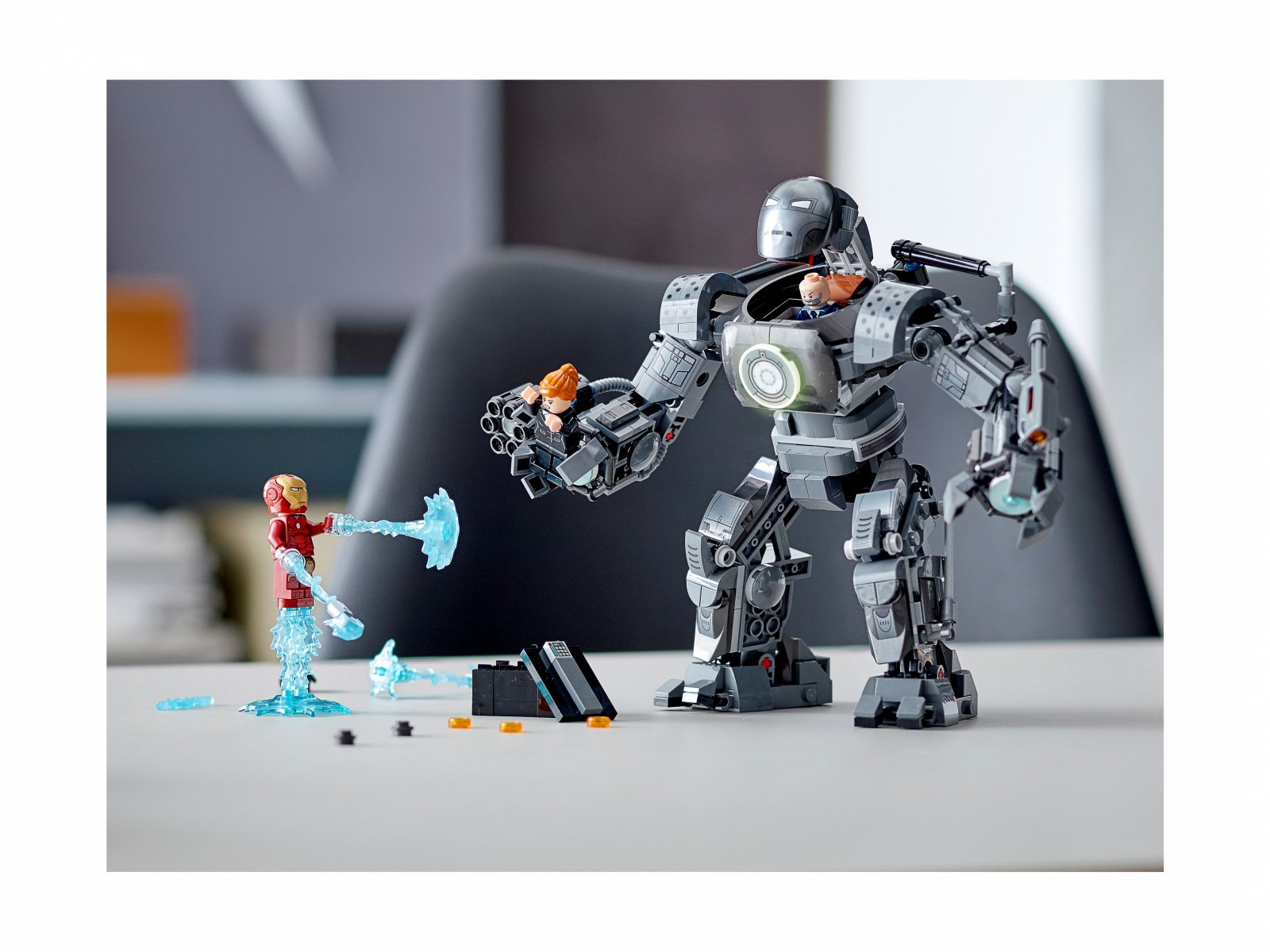 LEGO Marvel Iron Man: zadyma z Iron Mongerem 76190