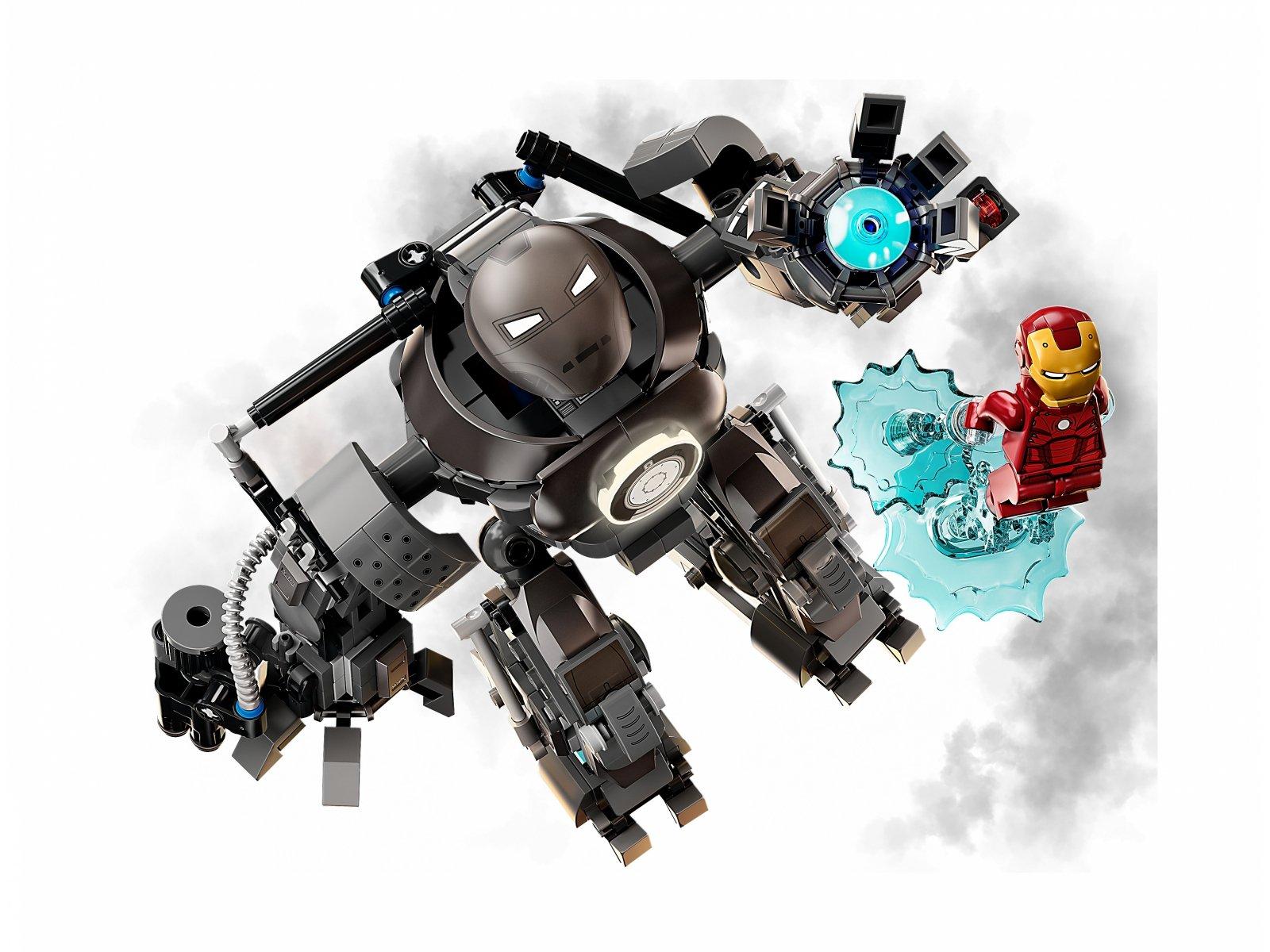 LEGO 76190 Marvel Iron Man: zadyma z Iron Mongerem