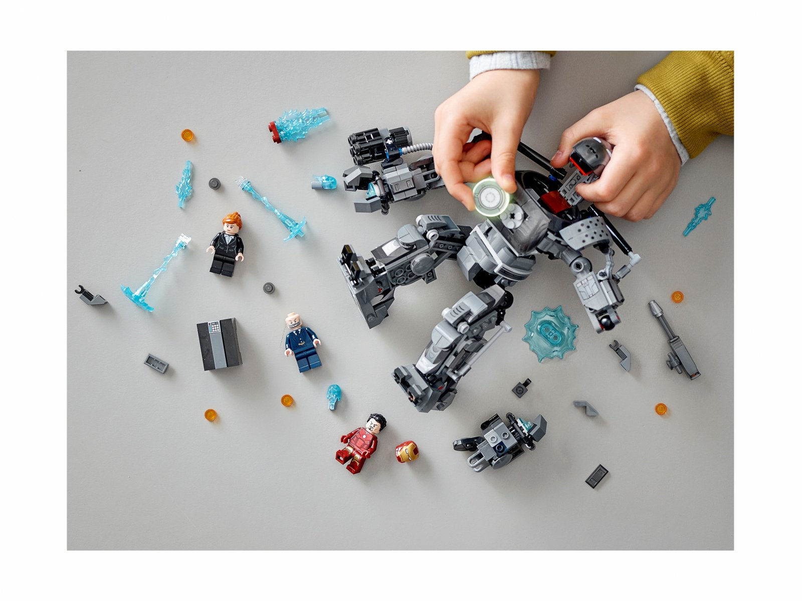 LEGO 76190 Iron Man: zadyma z Iron Mongerem