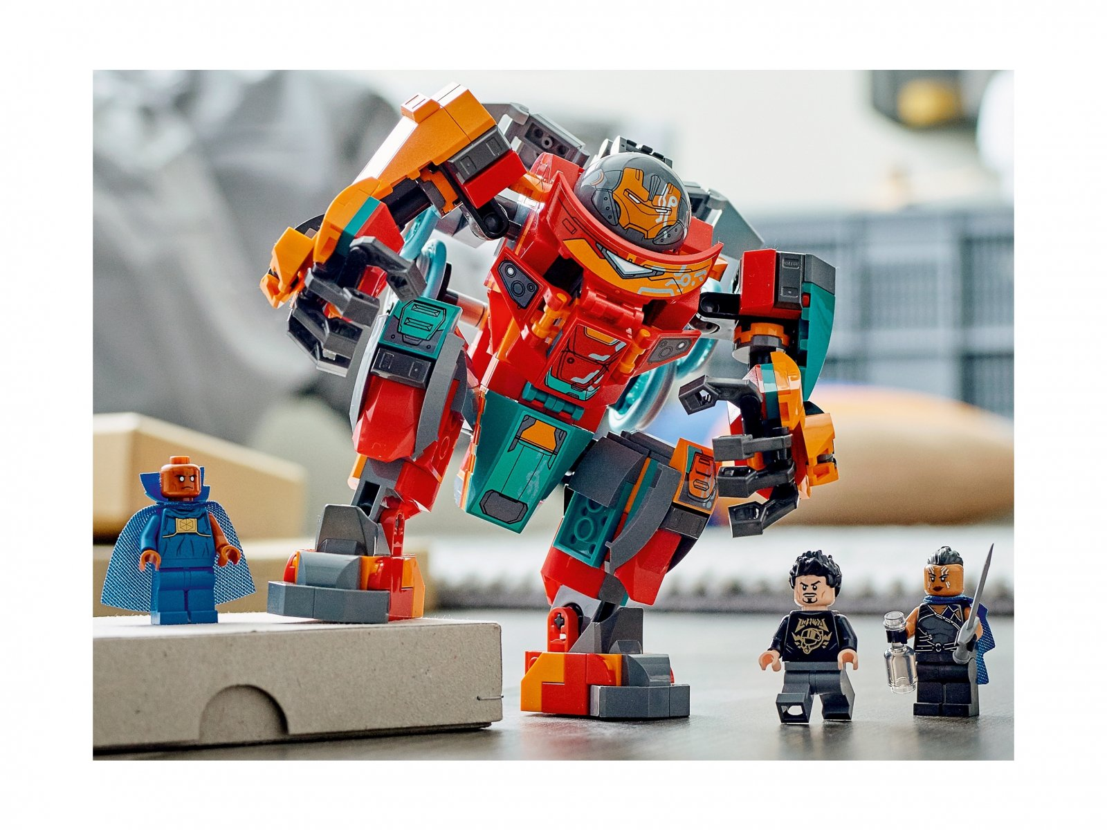 LEGO Marvel 76194 Sakaariański Iron Man Tony'ego Starka