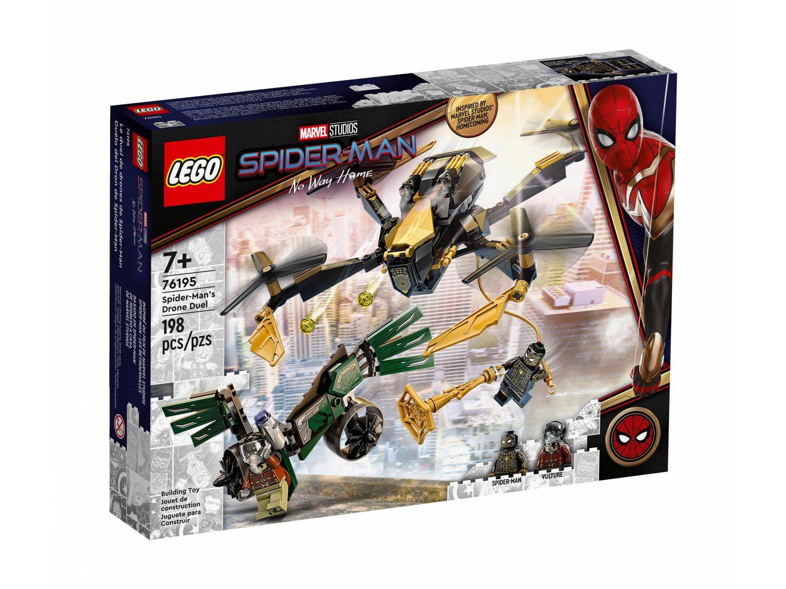 LEGO Marvel 76195 Bojowy dron Spider-Mana