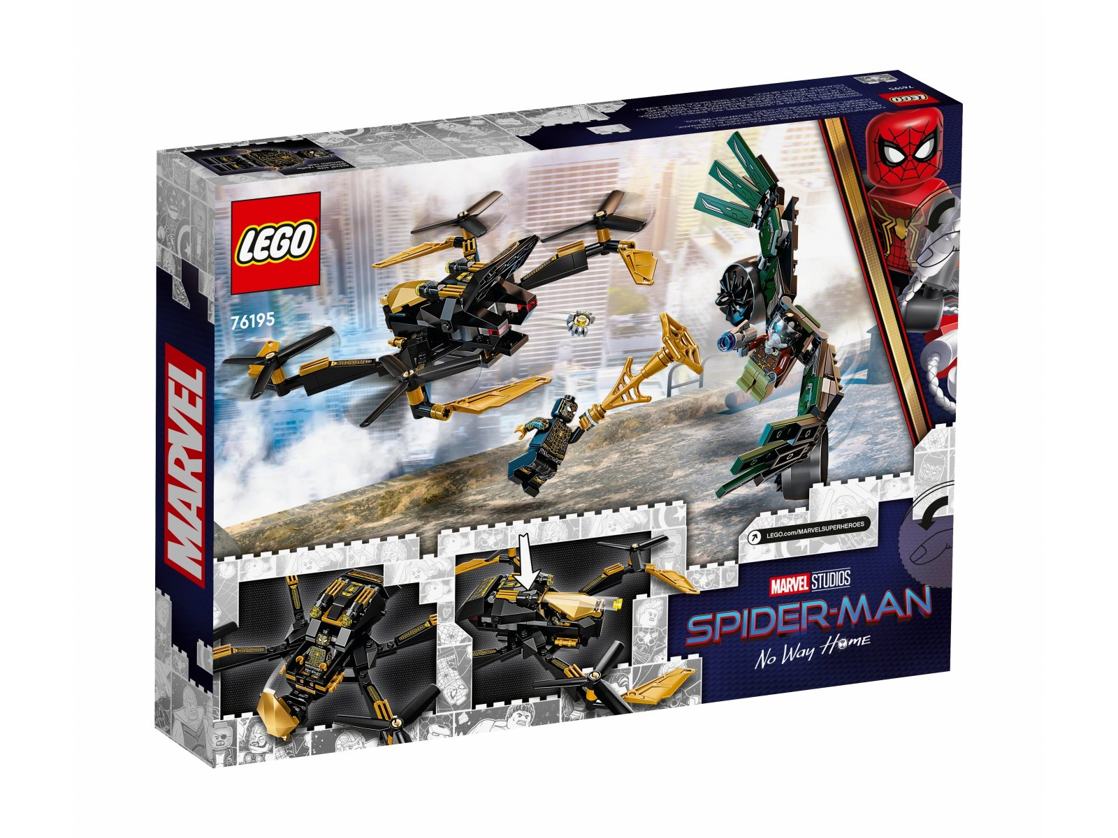LEGO 76195 Marvel Bojowy dron Spider-Mana