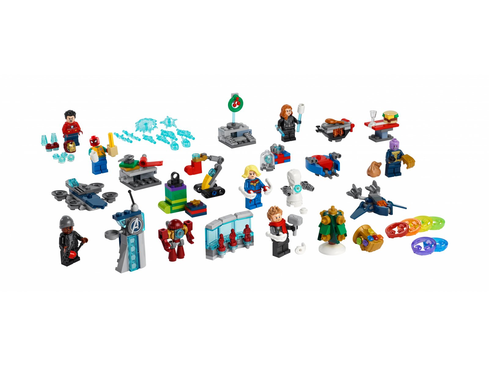 LEGO 76196 Kalendarz adwentowy Avengers