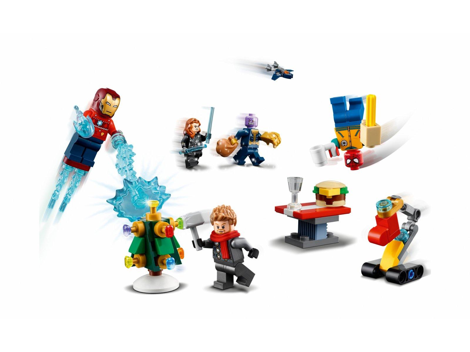 LEGO 76196 Marvel Kalendarz adwentowy Avengers