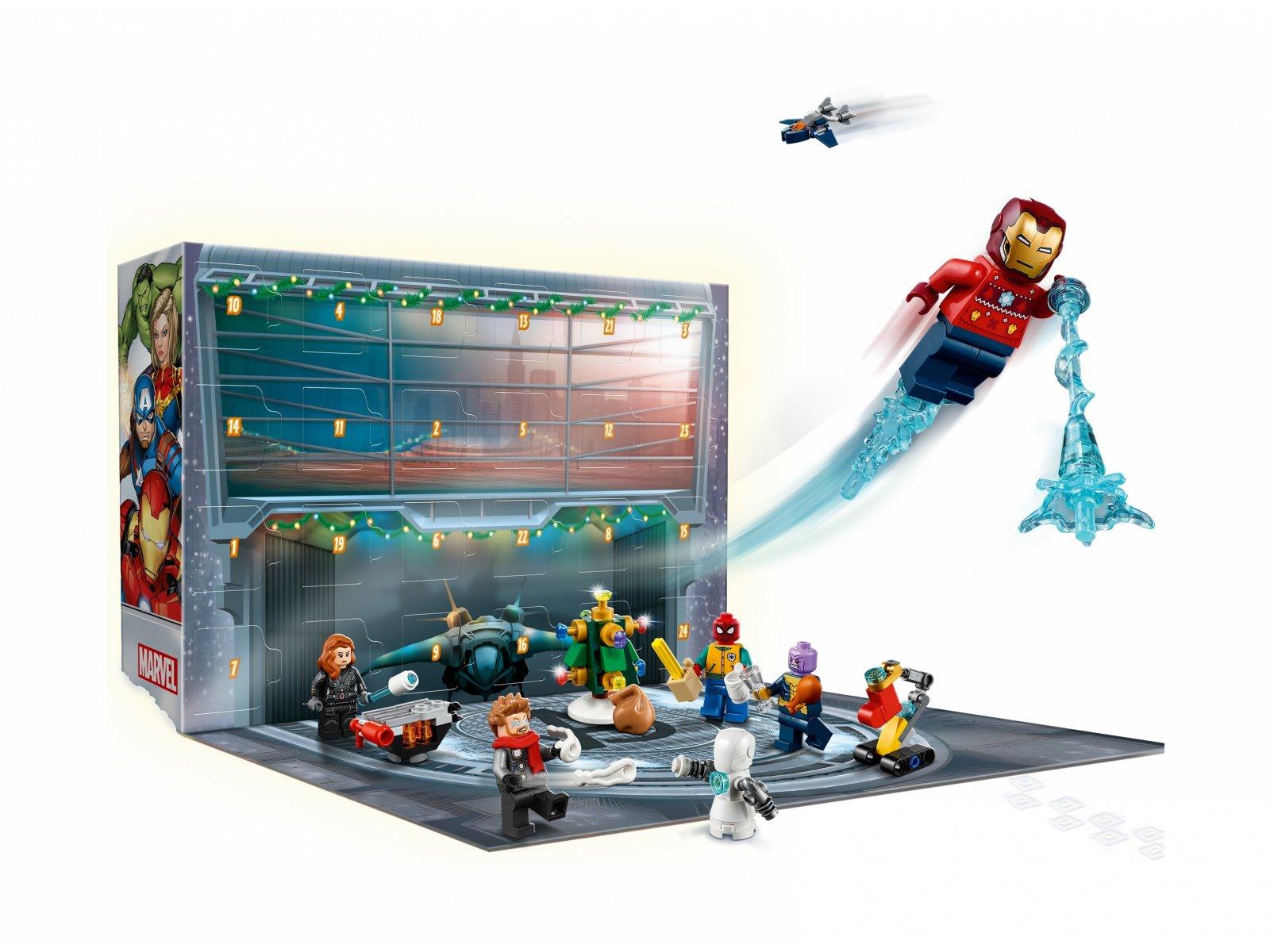 LEGO Marvel 76196 Kalendarz adwentowy Avengers