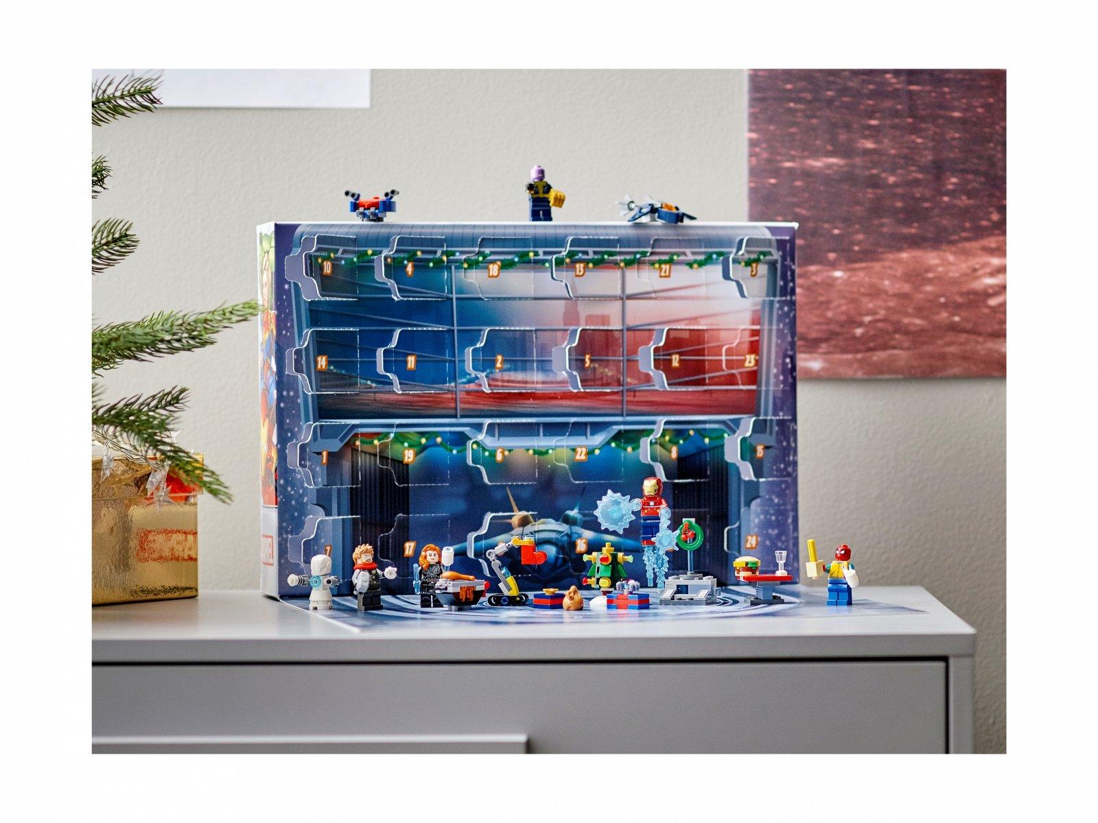 LEGO Marvel Kalendarz adwentowy Avengers 76196