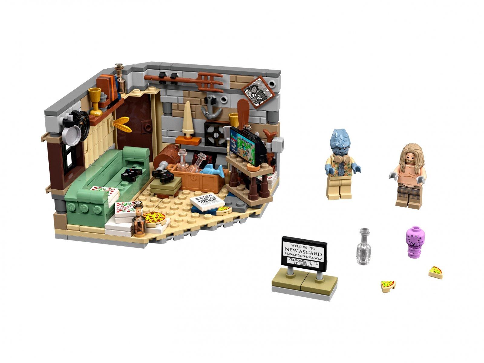 LEGO 76200 Nowy Asgard Grubego Thora