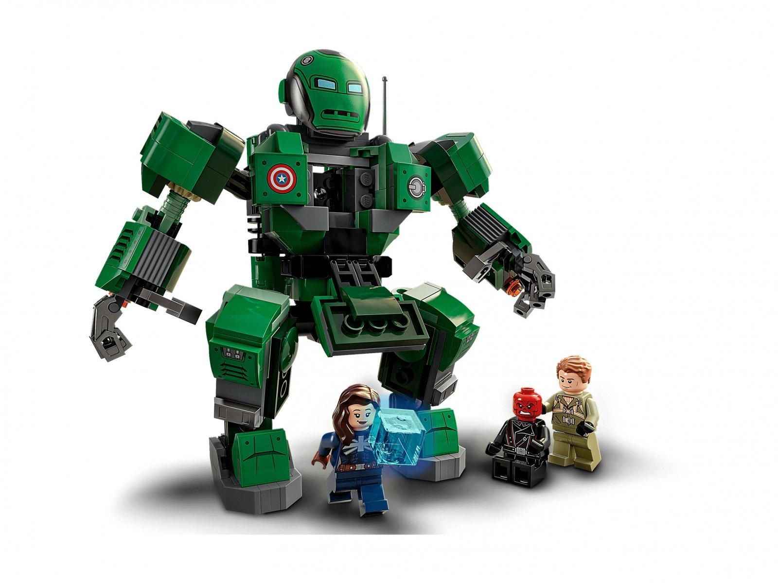 LEGO 76201 Marvel Kapitan Carter i Niszczyciel Hydry
