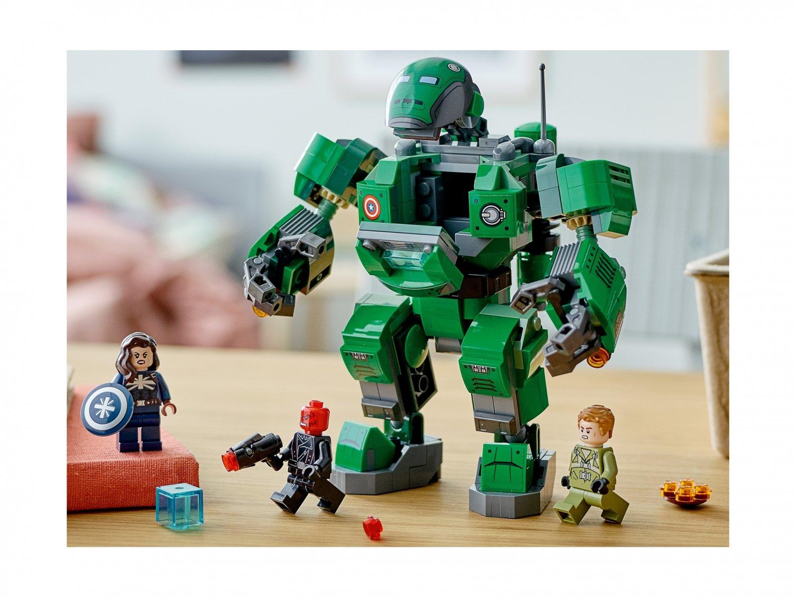LEGO Marvel 76201 Kapitan Carter i Niszczyciel Hydry