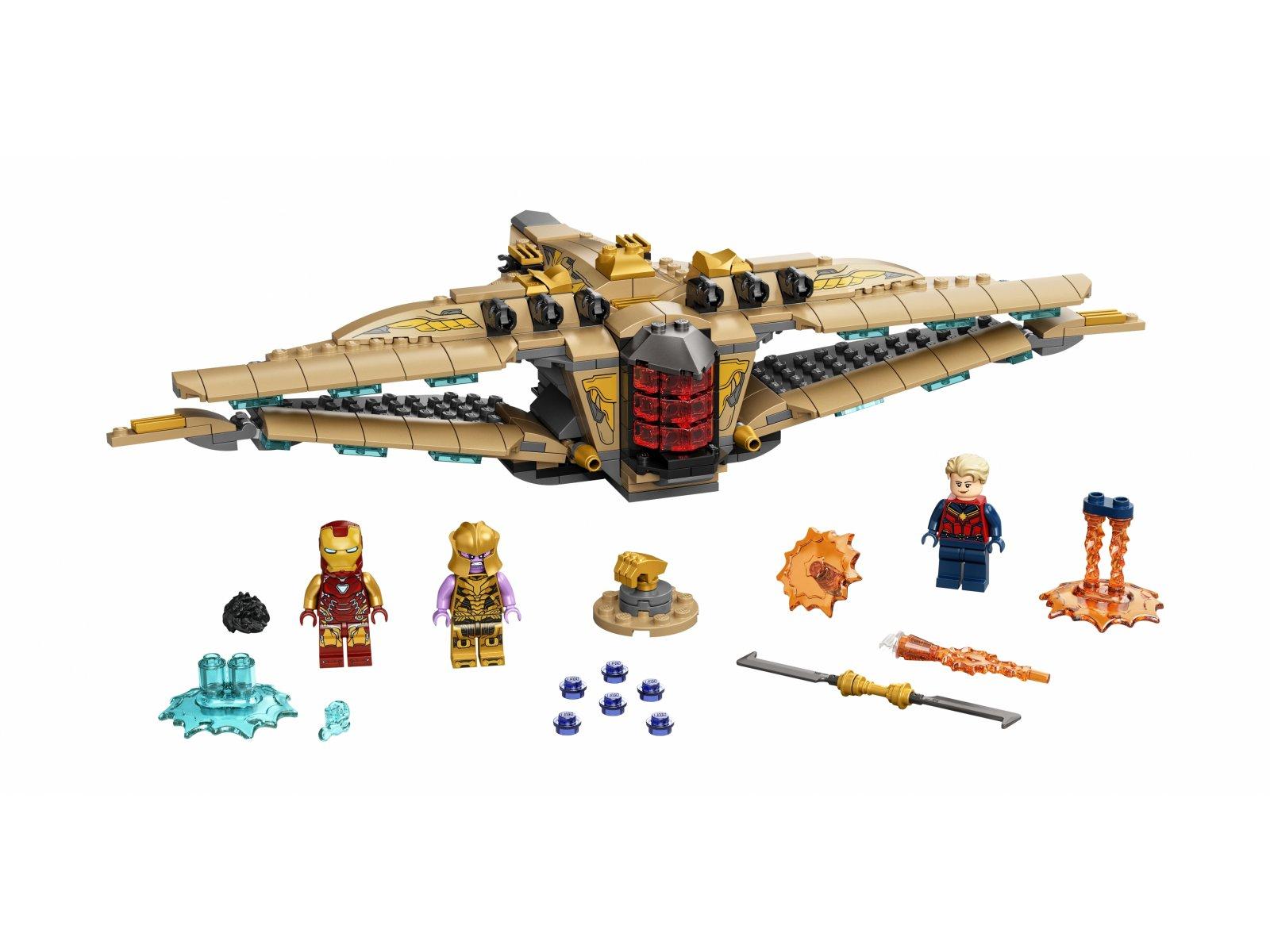 """LEGO Marvel 76237 Sanktuarium II: bitwa z """"Końca gry"""""""