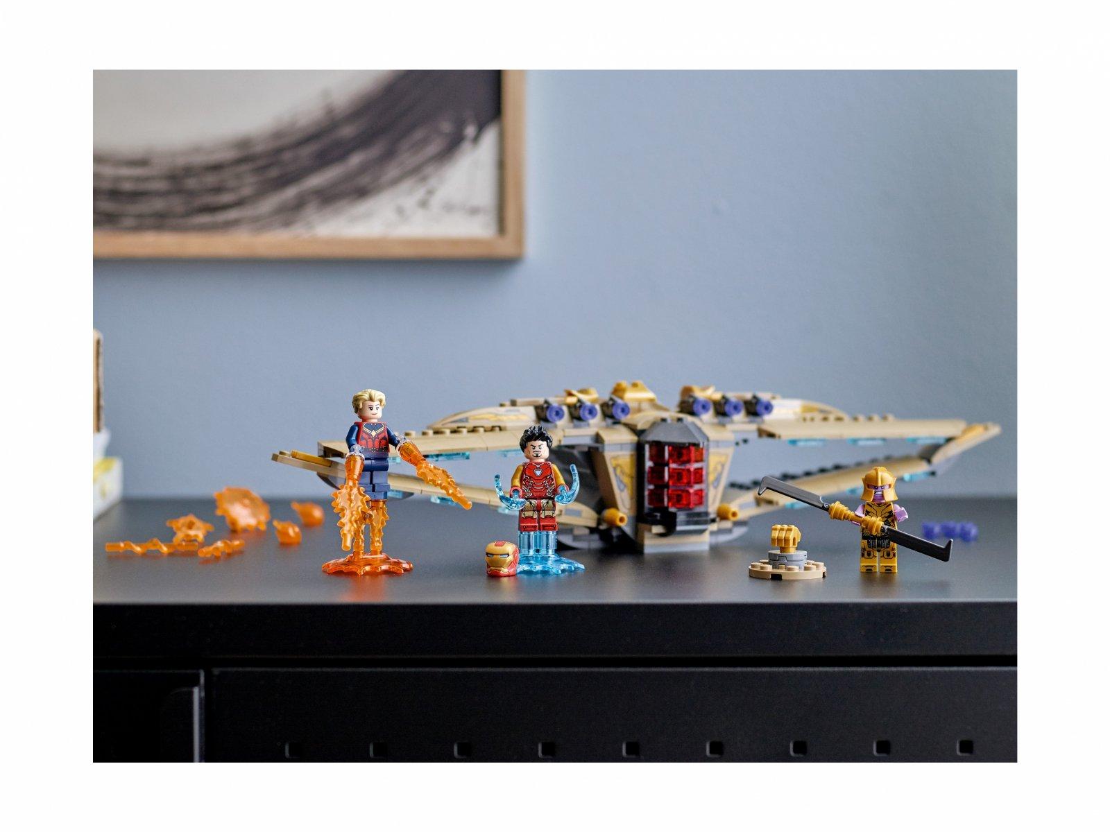 """LEGO 76237 Marvel Sanktuarium II: bitwa z """"Końca gry"""""""